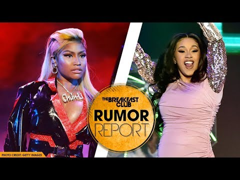 Nicki Minaj Addresses If She Has a Problem with Cardi B