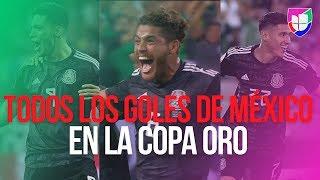 Todos los goles de México en la CONCACAF Copa Oro 2019