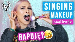 ♦ JAPĄ ŚPIEWAM  Singing my makeup routine challenge! ♦ Agnieszka Grzelak Beauty