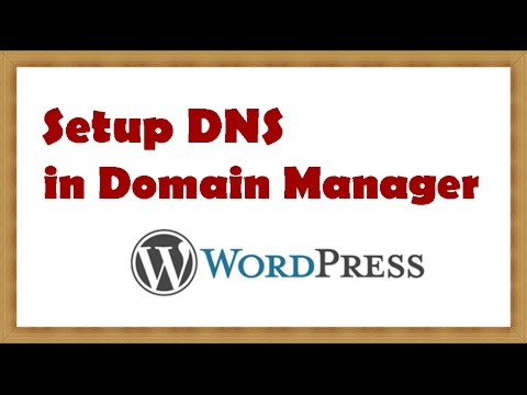 How to Setup DNS in Domain Manager