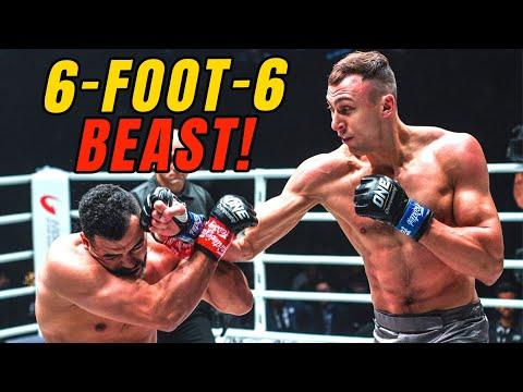 A 6-FOOT-6 BEAST 😱 Roman Kryklia CRUSHES Tarik Khbabez!