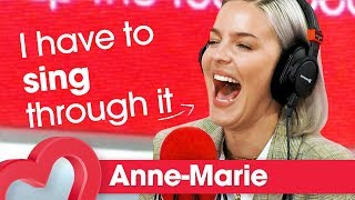 Anne-Marie reveals her on-stage burping habit 😱 | Interview | Heart MP3