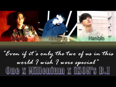 ONE x iKON's B.I x Millenium (1BinMill) - New Song [Han Rom Eng Color Coded Lyrics]   ongwannable