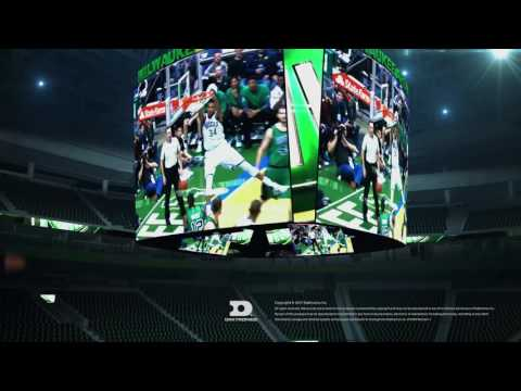 Introducing The NBA's Largest Equilateral Scoreboard