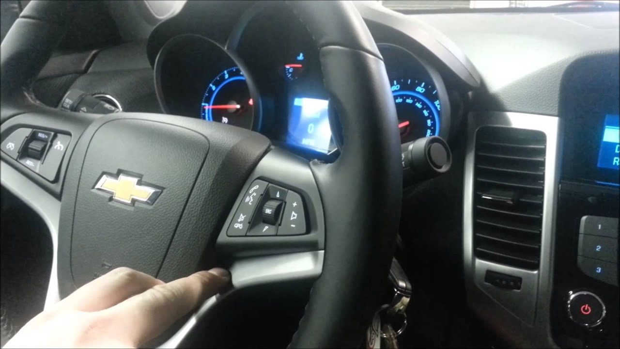 How To Pair Bluetooth In The 2014 Chevy Cruze Chevrolet