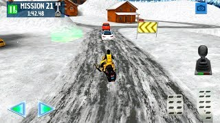 Winter Ski Park: Snow Driver - Gameplay Android games