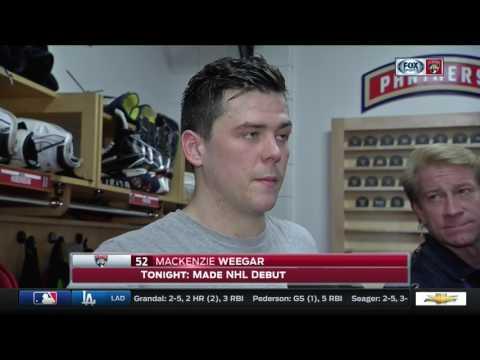 Mackenzie Weegar—Montreal Canadiens at Florida Panthers 4/3/17