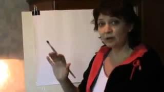 Как нарисовать лицо человека   Как рисовать потрет   Видео урок №1