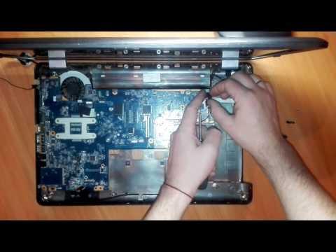 Как собрать ноутбук Compaq Presario CQ56