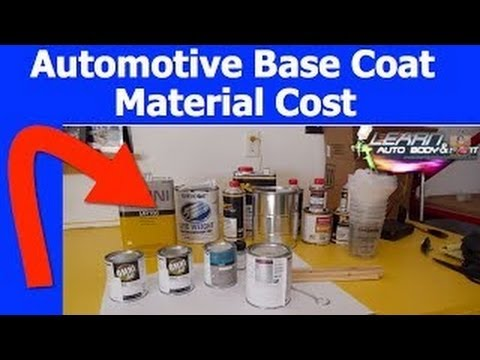 How much does automotive paint cost youtube for Auto painting cost