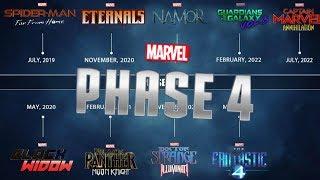 """NEW """"LEAKED"""" Marvel Phase 4 Slate News Explained"""