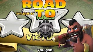 Clash Of Clans greece - Road To Master League Epsiode #2 - HOG RIDERS !!!
