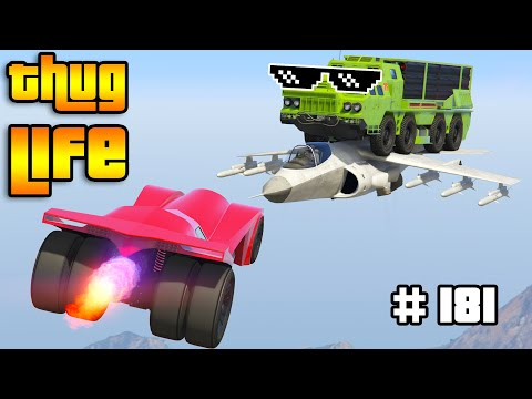 GTA 5 THUG LIFE AND FUNNY MOMENTS (Wins, Stunts And Fails #181)