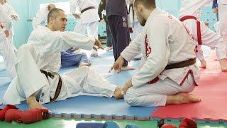 Каратэ и BJJ Хабаровск. Совместная тренировка.