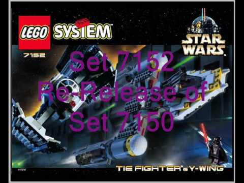 Lego Star Wars Set 7262 Tie and Y Fighter - YouTube