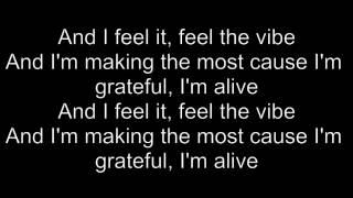 Bob Sinclar Ft  Dawn Tallman -  Feel The Vibe (lyrics)