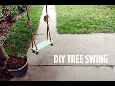 How To Make a Swing (Easy)