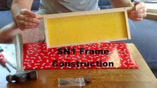 How To Build A Bee Hive Frame - Sn1 For National Super