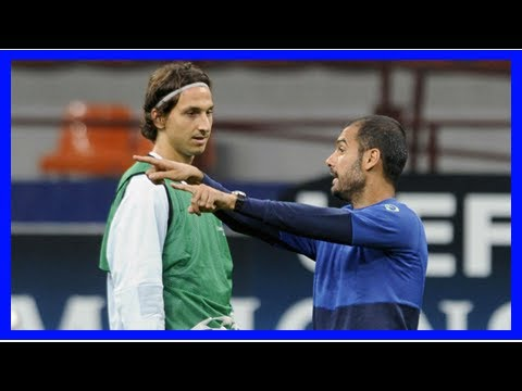Sport News - Zlatan: pep guardiola was the coach of the most immature I was working with