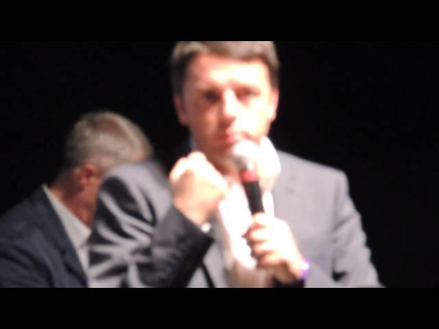 Matteo Renzi e le guide de L'Espresso