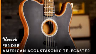 Fender Acoustasonic Tele: 10-Part Song using Revolutionary Acoustic & Electric Guitar | Reverb Demo
