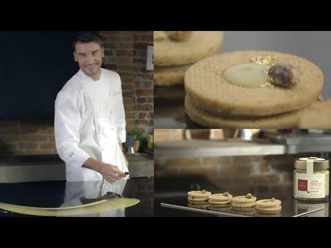 biscotti-occhi-di-bue-sablée-con-crema-al-pistacchio-domori-|-chef-damiano-carrara