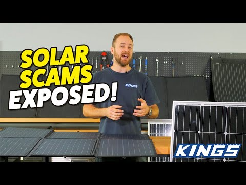ARE ALL SOLAR PANELS BUILT THE SAME? You won't believe the differences between some panels!