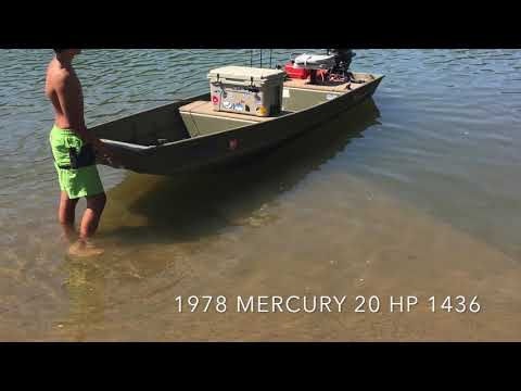 14 Foot Jon Boats And Top Speeds With 9.9, 15 And 20 HP Motors.