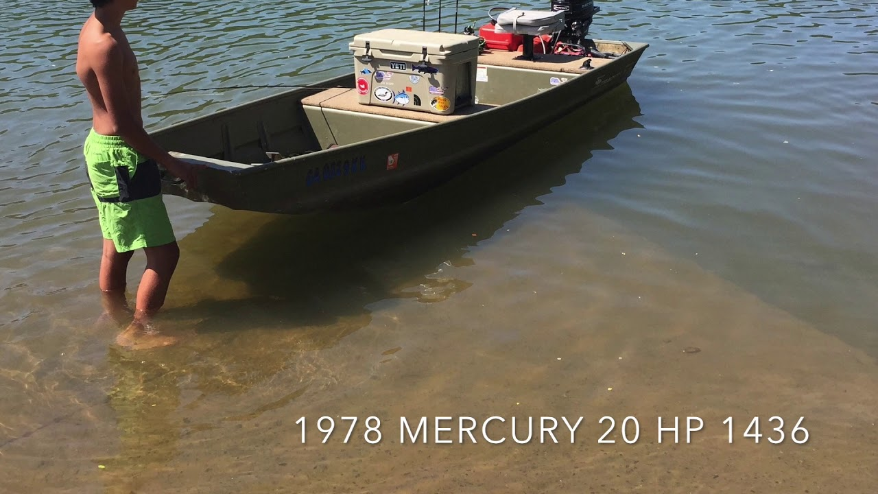 14 Foot Jon Boats and Top Speeds with 9 9, 15 and 20 HP motors