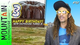 MTN OUTHOUSE NEWS - Outhouse Turns 3, Bus Run Bus, AC100 Masters Champ