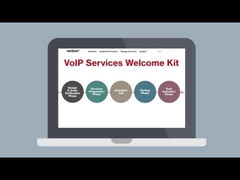 Let's implement your Verizon VoIP Service…together.
