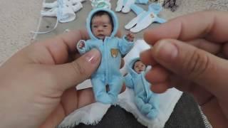 Bebê miniatura Polymer Clay - https://www.facebook.com/OriginalMrofka/