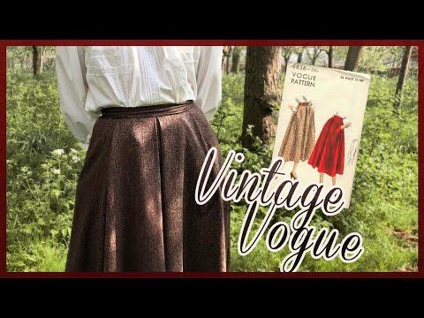 making-a-vogue-vintage-skirt