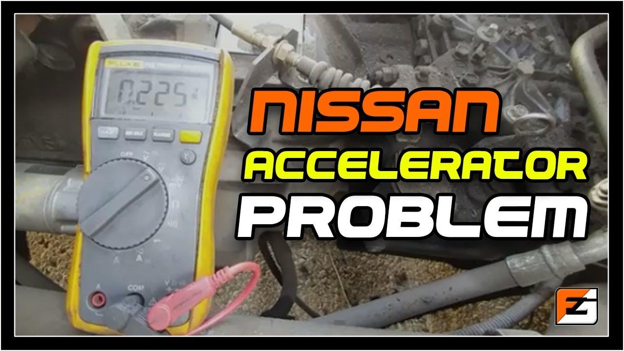 Nissan Accelerator Problem (code E-24)