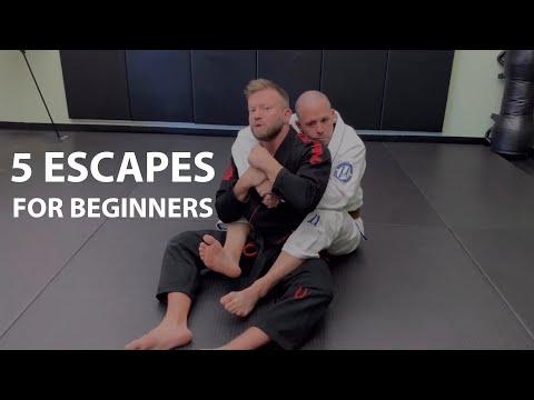 5 Jiu-Jitsu Escapes Every White Belt Should Know