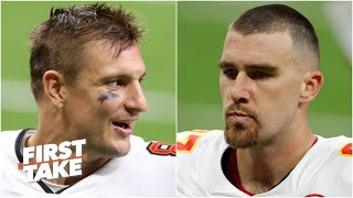Rob Gronkowski vs. Travis Kelce: Stephen A. and Max choose the greater tight end | First Take