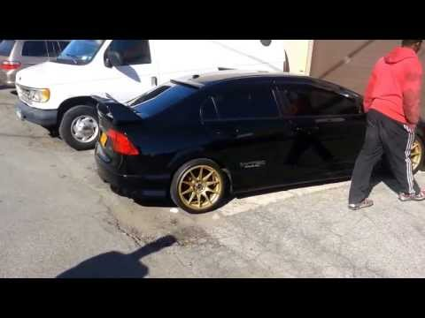 Honda Civic Si- Small 2 Step, Burnout/Launch