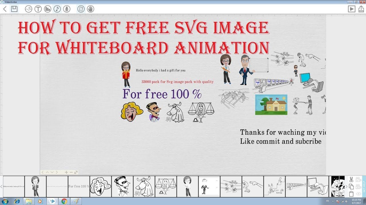 how to get free svg image for whiteboard animation youtube