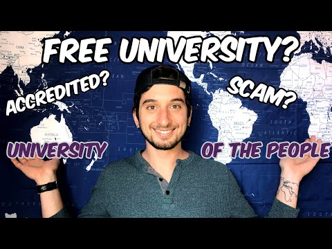 University of the People: FREE? LEGIT? ACCREDITED? An American's (USA) perspective.