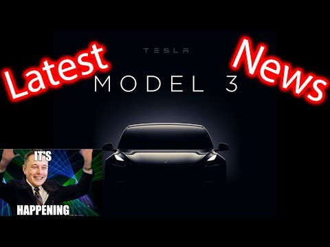 We're Going to See the Tesla Model 3!!!!!