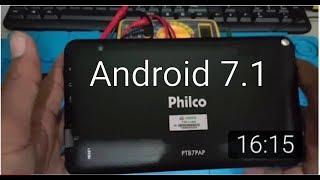 Muito facil Desbloqueio conta Google tablet Philco PTB7PAP Android 7.1 e tablet DL sem PC