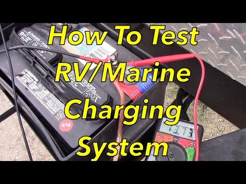 How To Test RV Or Marine Battery Charging System