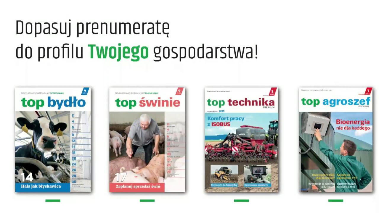 Top Agrar Polska na Agro Show 22 września 2017