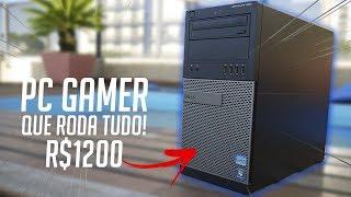 PC GAMER que RODA TUDO mais BARATO QUE PS4! [2019]