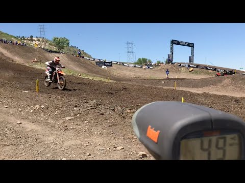 Radar Gun Clocks Speed Of 450 Class At 2018 Thunder Valley Motocross | TransWorld Motocross
