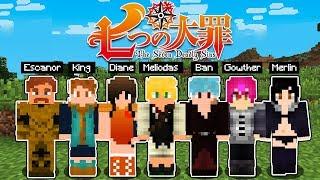 Minecraft: NANATSU NO TAIZAI NO MINECRAFT! (Tenha os poderes de Meliodas, Ban, King, etc)