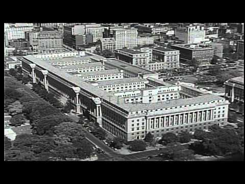 Department of Commerce building  in Washington DC,United States HD Stock Footage