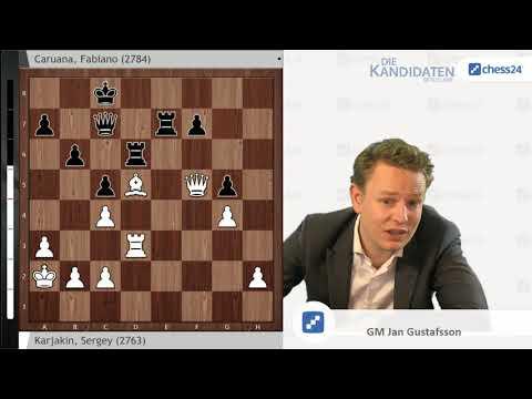 Karjakin - Caruana, Kandidatenturnier 2018 in der Analyse