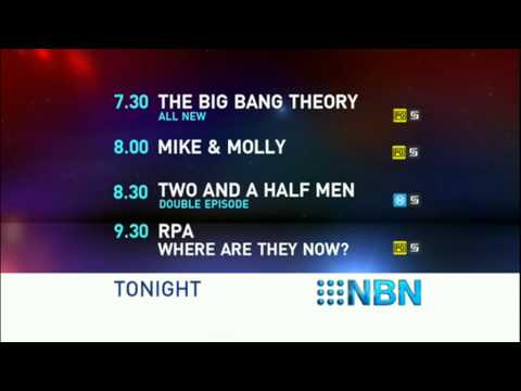 NBN Television - Lineup and PG Classification Warning - (13.4.2011)
