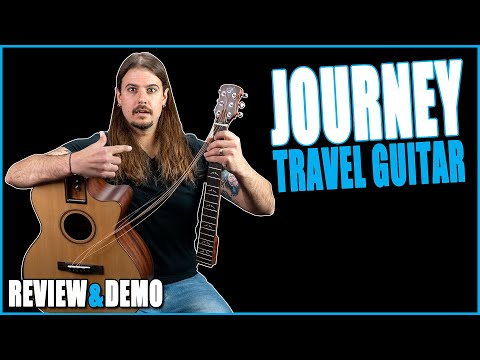 Journey FF412C Collapsible Travel Guitar Review & Demo